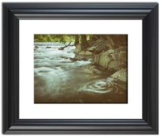 """11"""" x 14"""" Traditional Photography Prints / Wall Décor Landscape Photograph: Water Swirl in the River. View all of the stunning Landscape Photos by Nature and Landscape Photographer Melissa Fague at:  https://www.etsy.com/shop/PIPAFineart Limited Edition Fine Art landscape photography prints and canvas wraps are also available in a variety of sizes."""