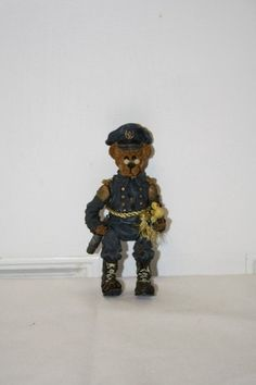"""Boyd's 'General' figurine with movable limbs measures approx: 5"""" x 2.5"""" ed/#/pc 2E/429 $12.50"""