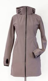 Angel-wings Softshell coat foggy grey