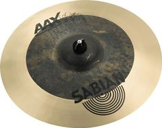 "Sabian 18 Inch AAX EL Sabor Picante Hand Crash by Sabian. $239.00. Designed for percussionists to slap by hand, the SABIAN 18"" AAX El Sabor Picante Hand Crash is an extra-thin-edged (with medium-weight center), semi-lathed model that simply explodes with bright, dirt-tinged sound. The SABIAN AAX series delivers consistently bright, crisp, clear and cutting responses – AAX is the ultimate Modern Bright sound!. Save 37% Off!"