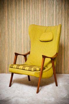 Lounge chair by Møre Lenestolfabrikk