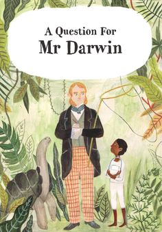 Mr Darwin - Katie Harnett Illustration