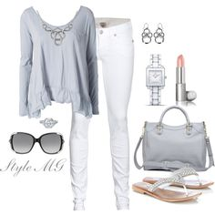 Color me gray, created by romigr99 on Polyvore