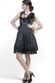 Ophelia Blaimer - Couture - Couture - Dans les jardins - Black is Beautiful