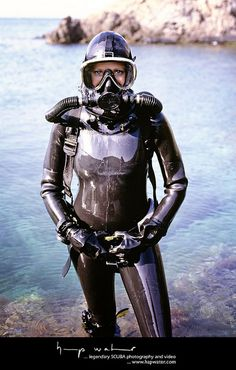Buy Commercial Diving Tools from Experienced Saturation Diver. Glossier Girl, Hazmat Suit, Scuba Girl, Womens Wetsuit, Heavy Rubber, Diving Equipment, Neoprene Rubber, Sport Girl, Catsuit