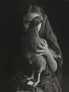 Manuel Carrillo - Girl with chicken