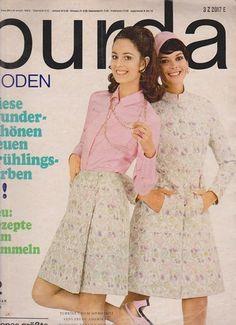 burda moden! vintage style sewing magazine