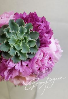 Greenfingers bridal bouquet
