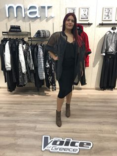 72961c01c0de Gorgeous outfit by Mat. fashion for the Voice of Greece Real Size Plus Size  Fashion