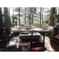 Winter Garden, Showers, Sun, Instagram Posts, Home, House, Conservatory, Homes, Houses