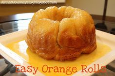 Easy Orange Rolls ... perfect Christmas breakfast!