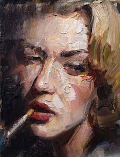 "redlipstickresurrected: ""Matt Talbert (American, based Tustin, CA, USA) - Texture Study Paintings: Oil "" Painting Inspiration, Art Inspo, Renaissance Art, A Level Art, Portrait Art, Portrait Paintings, Pablo Picasso, Art Sketchbook, Aesthetic Art"