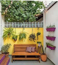 Trendy home garden design indian Home Garden Design, Balcony Design, Patio Design, Home Interior Design, Interior And Exterior, Home And Garden, Cafe Exterior, Ranch Exterior, Bungalow Exterior