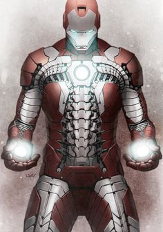 "Iron Man ""Suit-Case"" mk V Armour"