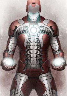 """Iron Man """"Suit-Case"""" mk V Armour"""