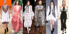 From the modernization of retro silhouettes, to Spanish ruffles and pajamas as daywear, see the 9 trends that define the season.