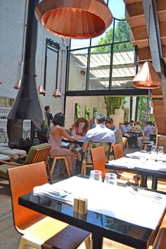 Olsen Bar & Restaurant in Buenos Aires. Such a beautiful interior space!