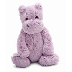 Bashful Lilac Hippo - medium