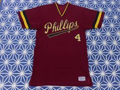 Vintage 40s 50s 60s Phillips University jersey t by CheAmeVintage