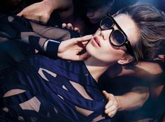 Esther Heesch, Conrad Bromfield & Carlos Peters by Tom Ford for Tom Ford Spring Summer 2014