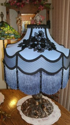 Vintage lampshade boho style shade fringe and lace moroccan vintage lampshade boho style shade fringe and lace moroccan decor moroccan and lampshades aloadofball Gallery