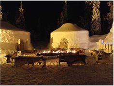 Iisakki Winter Village, near Ruka.
