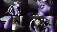 Bottle Necklace Charm Series, Universe -MLPCustoms by ~Cemetery-Nightmare on deviantART