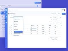 New Invoice UI Design