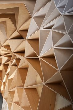 Stack | Ken Mishima | Archinect Fabrication, assembly, and installation of a demountable structure of stack-able triangular units designed by FreelandBuck.