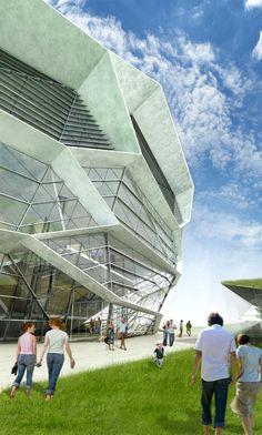 Kengo Kuma- Granada Performing Arts Centre