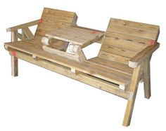 Garden Seat/Table Plans |Easy plans to build your own garden seat/table