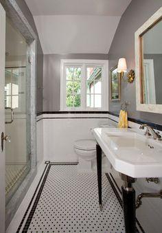 Read More About Incredible Bathroom Renovations DIY Victorian Style Bathroom, 1920s Bathroom, Mold In Bathroom, Small Space Bathroom, Upstairs Bathrooms, Bathroom Scales, Vintage Bathrooms, Industrial Bathroom, Chic Bathrooms