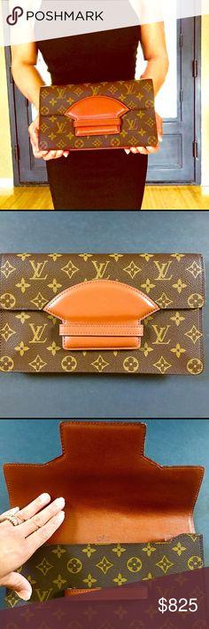 Spotted while shopping on Poshmark: AUTHENTIC LOUIS VUITTON VINTAGE MONOGRAM CLUTCH! #poshmark #fashion #shopping #style #Louis Vuitton #Handbags