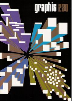 Graphis cover 1984 by Yusaku Kamekura.
