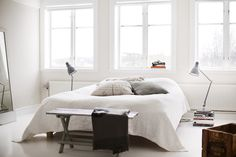 Минималистичная скандинавская спальня #scandinavianinterior #homedecor