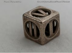 Hollow Dice Numerals