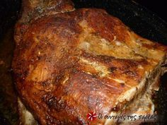 8 Simple Commonsense Cooking Tips Greek Recipes, Pork Recipes, Cooking Recipes, Healthy Recipes, The Kitchen Food Network, Low Sodium Recipes, Greek Cooking, Happy Foods, Christmas Cooking