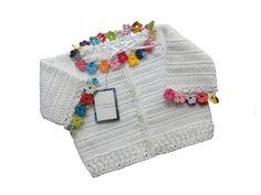 Concepção de Casaco de crochê em linha para bebê e preço http://ift.tt/2qTfUgU