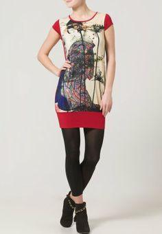 Anna Field - Vestido de algodón - rojo