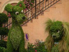 Epcot's International Flower & Garden Festival, Italy