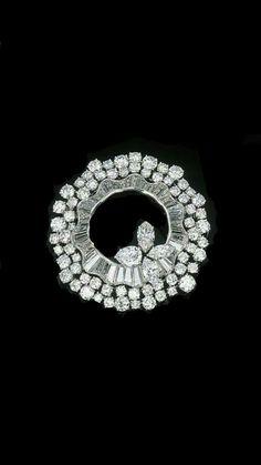 Diamond brooch #DiamondBrooches