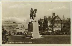 Lady Godiva Statue Broadgate Coventry