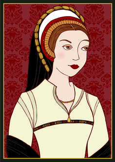 Katherine Howard, by HistoryWitch.com