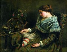 Gustave Courbet (June 10, 1819 ~ Dec 31,1877): French http://wiki.cultured.com/people/Gustave_Courbet/