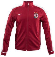 Mikina Nike N98 Sparta Praha Praha, Nike, Motorcycle Jacket, Athletic, Jackets, Fashion, Down Jackets, Moda, Athlete