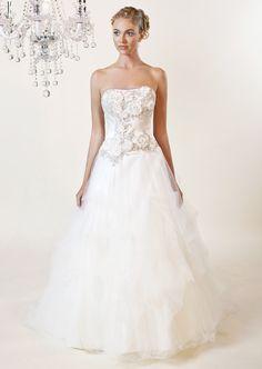 Winnie Couture Diamond Label, high-end, 100% silk, Swarovski beading   Winnie Chlomin 2016 Bridal