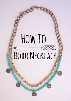 How To | Boho Necklace