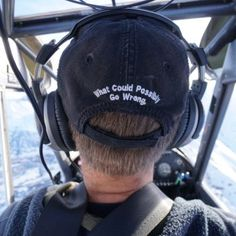 Check out Blue Ice Aviation's hats - several to choose from!