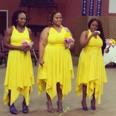 #Clay #Bridesmaids #realwedding #MadeinJamaica #HouseofClay by houseofclayja