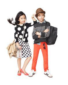 so cute kid fashion style boy girl look